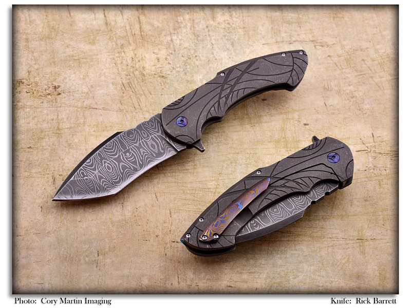 Mayan damascus Rick Barret