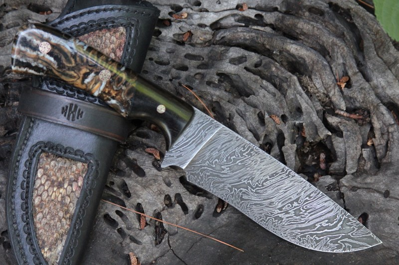 wip and Damascus hunter 105 (800x533)